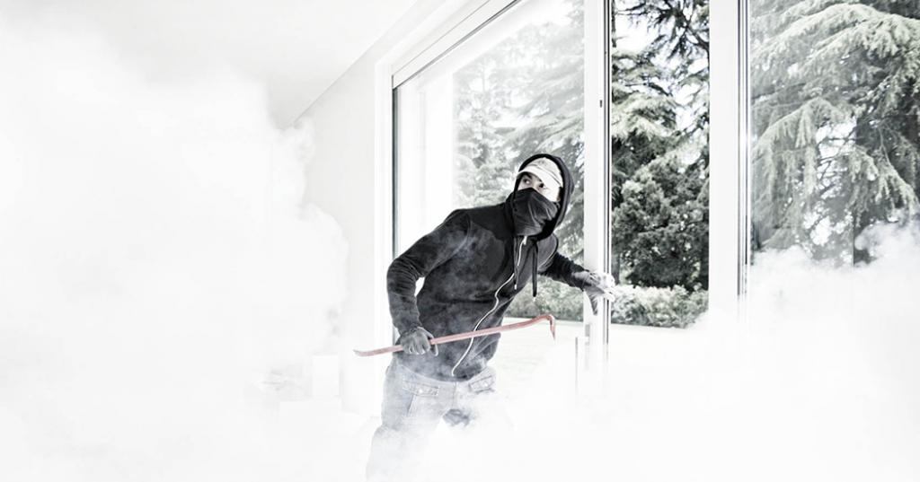 sistema de niebla de seguridad
