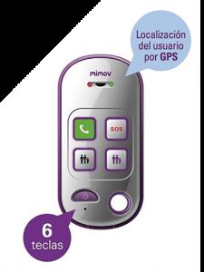 MIMOV - Botón de teleasistencia de emergencias
