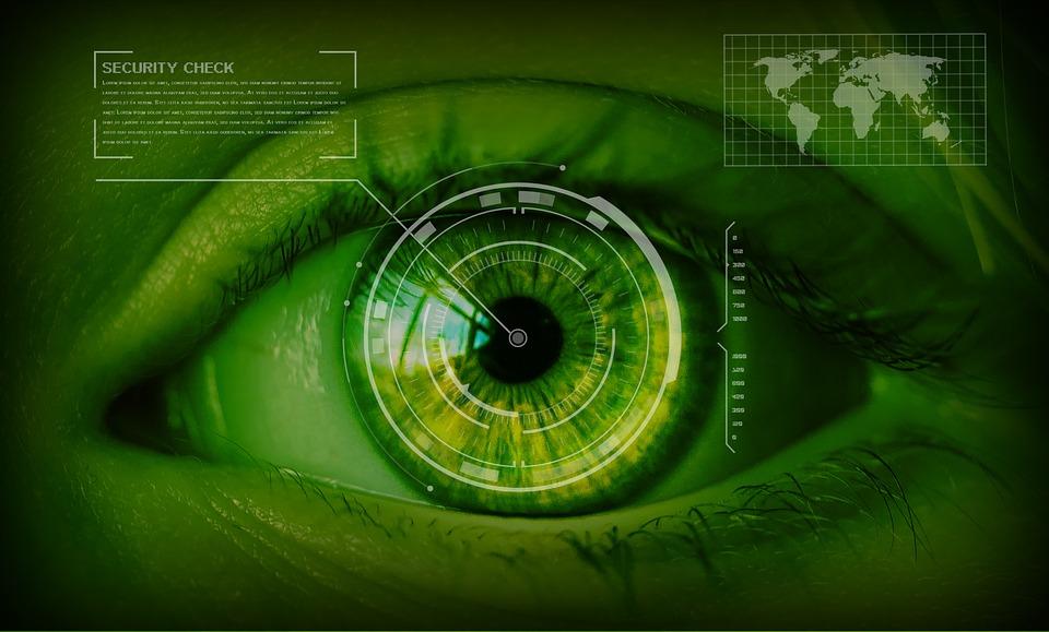 control acceso reconocimiento Iris